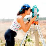 Видео-курс по геодезии. Работа с тахеометром, Псков